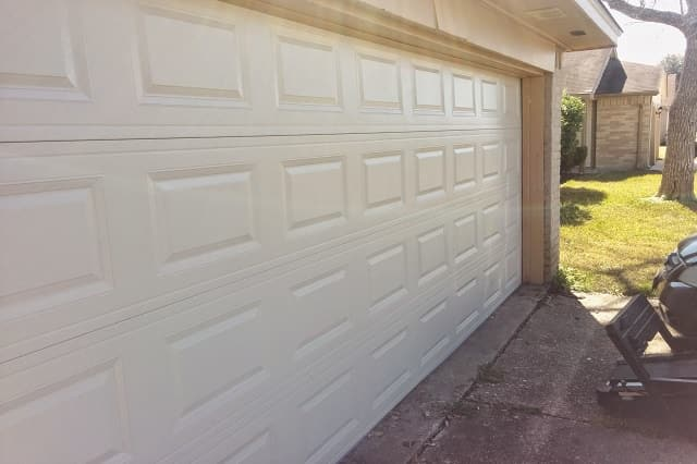 white garage door phoenix